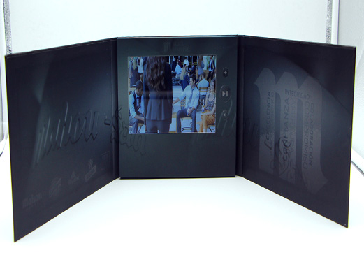 A4 10-inch Video Brochure