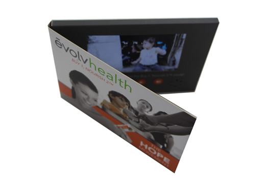 Healthcare Marketing 5 Inch Video Brochure